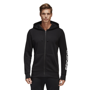 Adidas Essentials Linear Mens Casual Hoodie