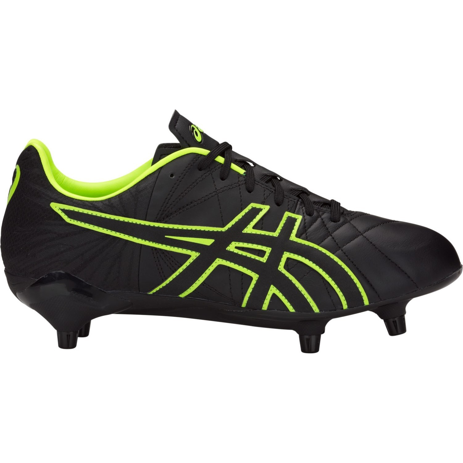 d4a673862 Asics Gel Lethal Tigreor ST - Mens Football Boots - Black Hazard Green