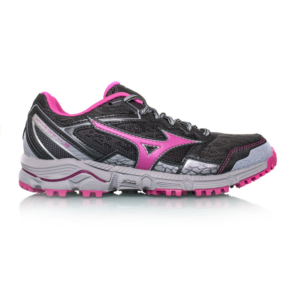 1f65fdc9e2f8 Mizuno Wave Daichi 3 - Womens Trail Running Shoes - Dark Shadow/Athena/Dark