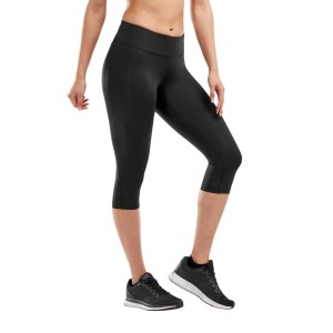 2XU Womens Mid-Rise Compression 3/4 Tights