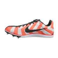 Nike Zoom Rival D 8 - Unisex Track Running Spikes - Atomic Red/White/Dark Charcoal