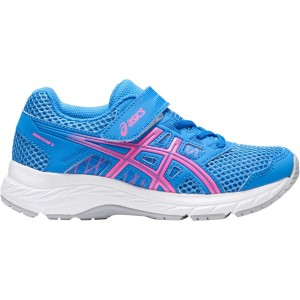 Asics Contend 5 PS - Kids Girls Running Shoes