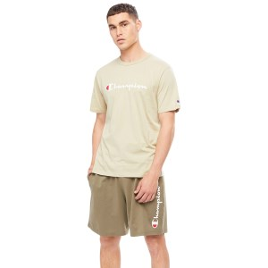 Champion Script Mens Short Sleeve T-Shirt