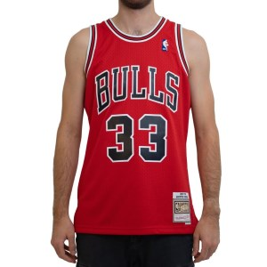 Mitchell & Ness Chicago Bulls Scottie Pippen 1997-98 NBA Swingman Mens Basketball Jersey