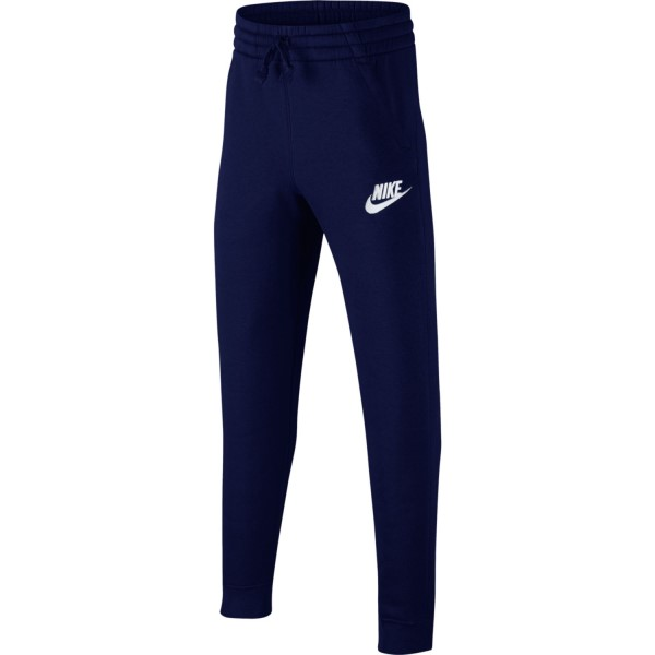 Nike Sportswear Fleece Jogger Kids Boys Sweatpants - Blue Void//White