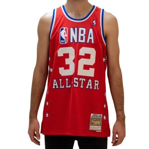 Mitchell & Ness All-Star Magic Johnson 1988 NBA Swingman Mens Basketball Jersey