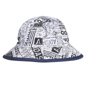 Adidas Reversible Infant Bucket Hat - Blue/Shock Cyan/White