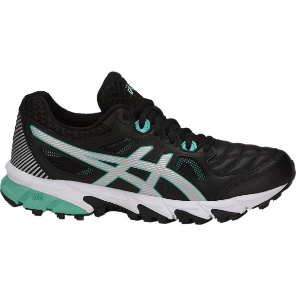 Asics Gel Trigger 12 - Womens Running Shoes - Black/Silver/Opal Green