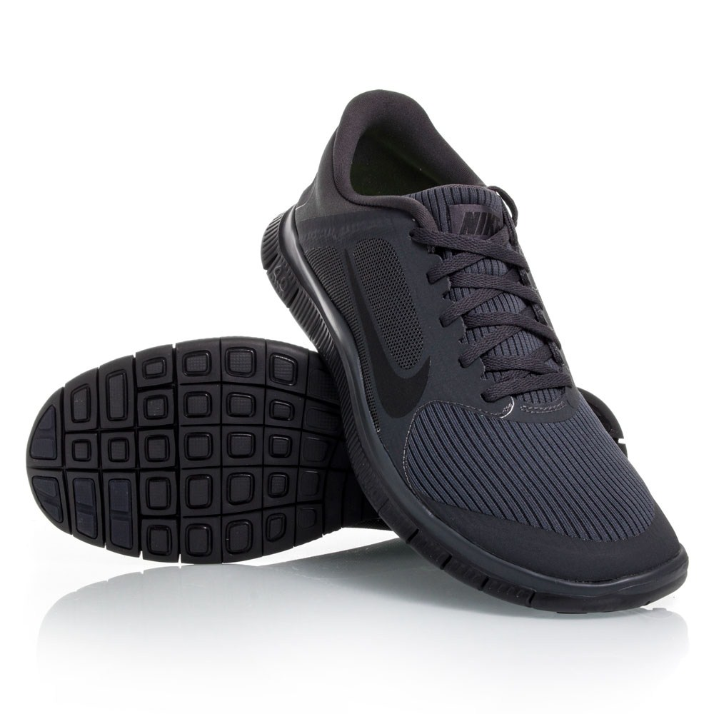 nike free 4 0 v3 mens running shoes black anthracite. Black Bedroom Furniture Sets. Home Design Ideas