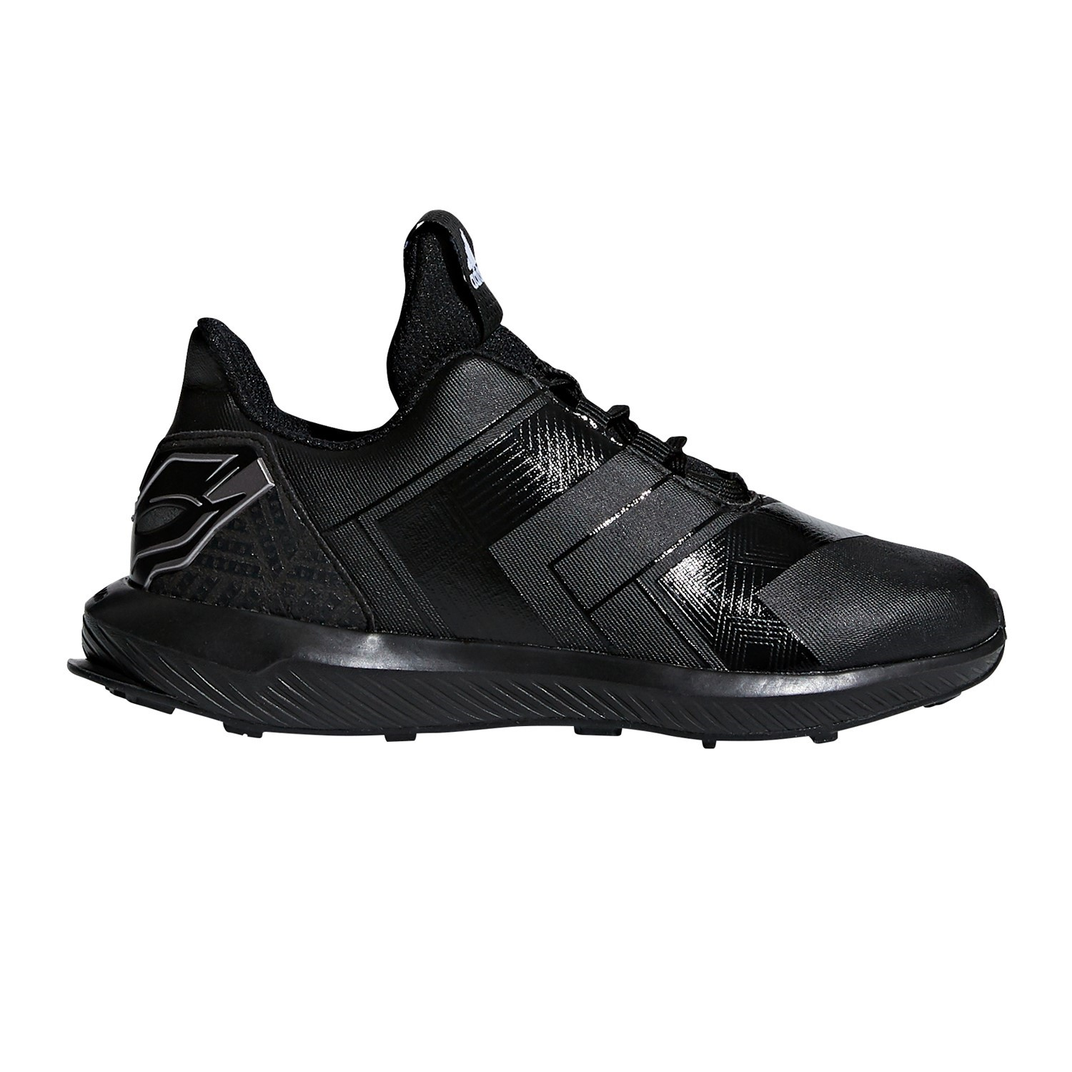 official photos f08f5 3e896 Adidas RapidaRun Avengers Black Panther - Kids Boys Running Shoes -  BlackSilver
