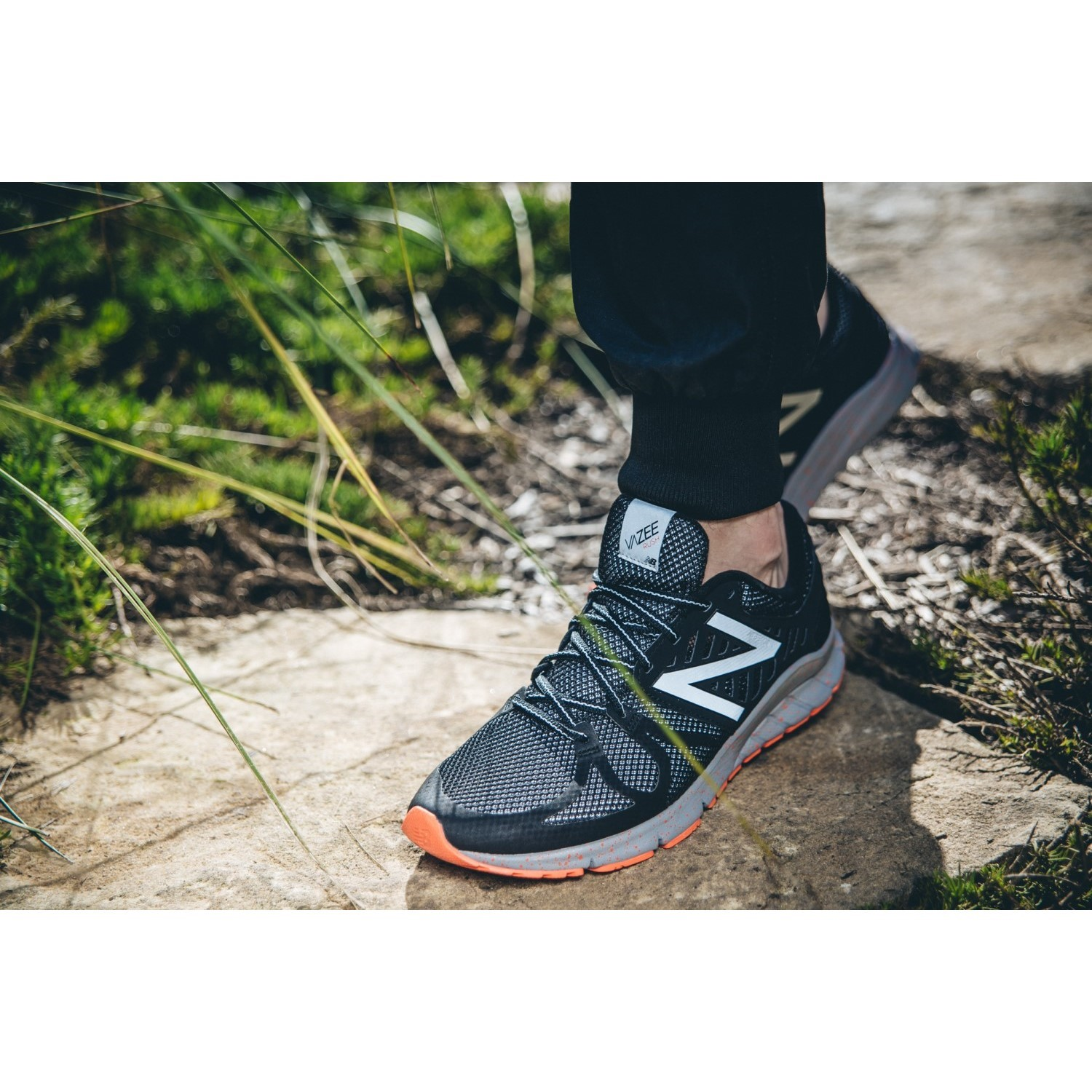 New balance vazee rush v2 mens running shoes black multi online - New Balance Vazee Rush Beacon Mens Running Shoes Black Flame
