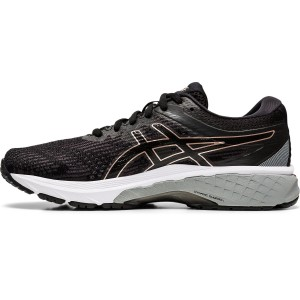 Asics GT-2000 8 - Womens Running Shoes - Black/Rose Gold