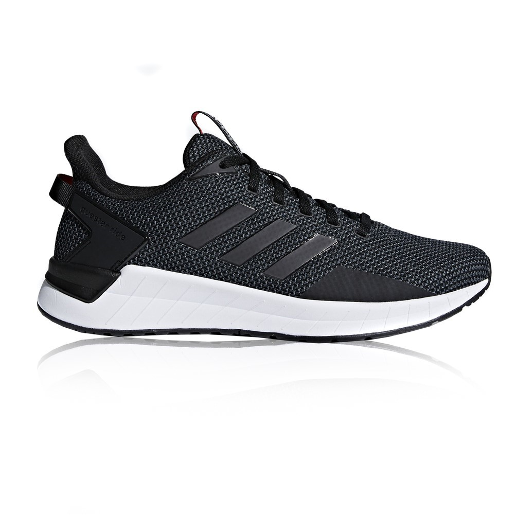 9327caf3832a Adidas Questar Ride - Mens Running Shoes - Black White