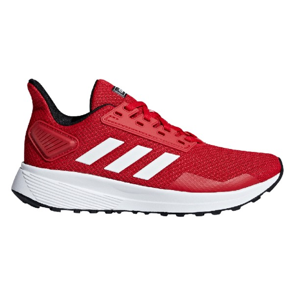 Adidas Duramo 9 - Kids Running Shoes - Red/White/Black