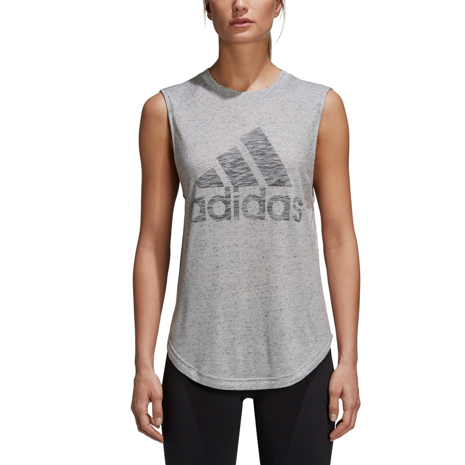 official photos 1a1c2 d6a83 Adidas ID Winners Womens Muscle Tank Top - Grey