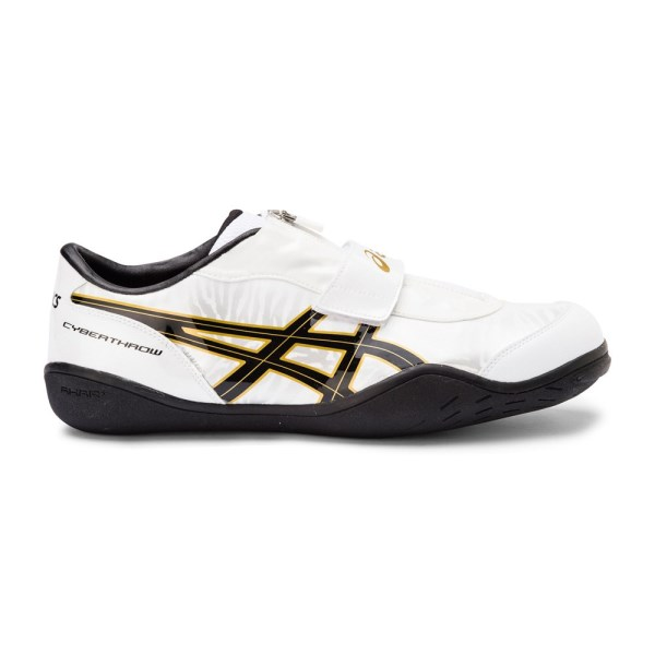 f47c38407aeaa0 Asics Cyber Throw London - Unisex Throwing Shoes - White Gold Black ...