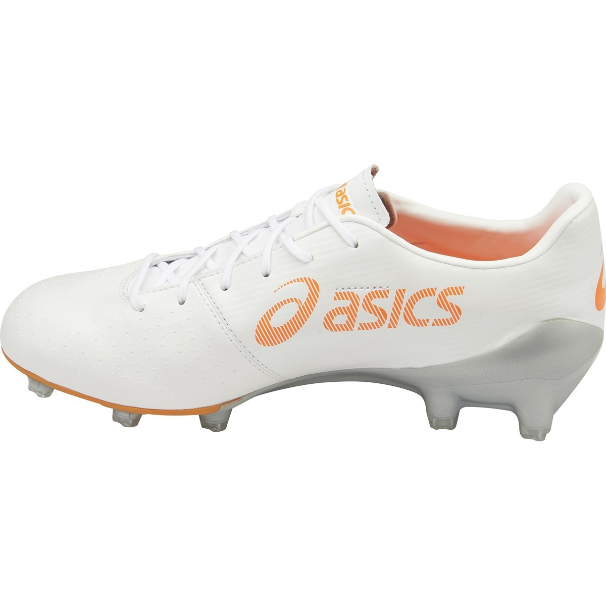 db8a92990ab2 Asics Menace - Mens Football Boots - Pearl White Black Silver ...