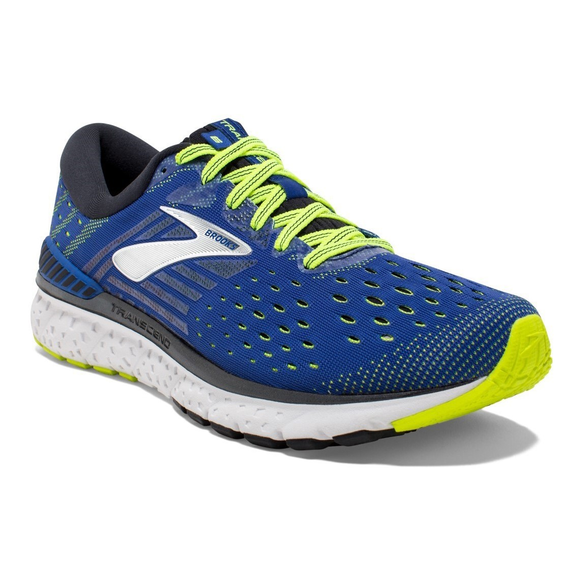 d9a4a61b4ed Brooks Transcend 6 - Mens Running Shoes - Blue Black Nightlife ...
