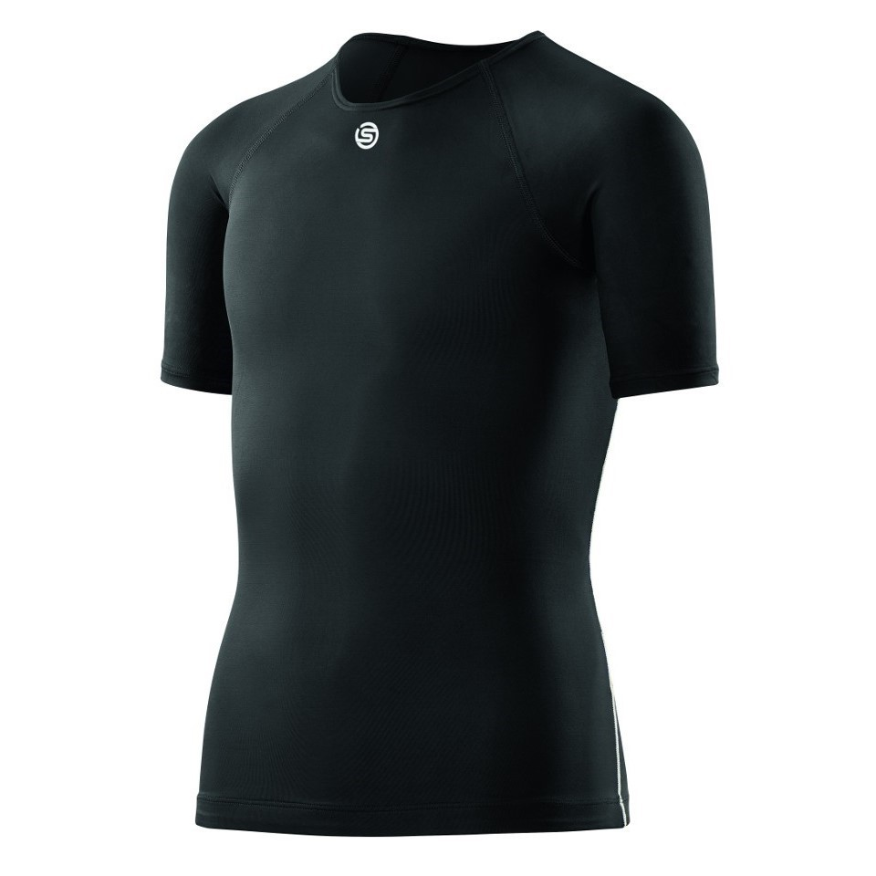 67aa62ddc03 Skins DNAmic Team Youth Compression Short Sleeve Top - Black ...