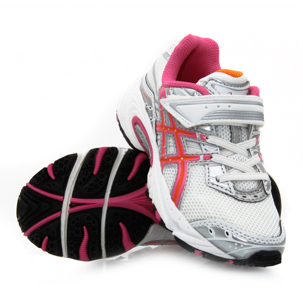 girls asics trainers