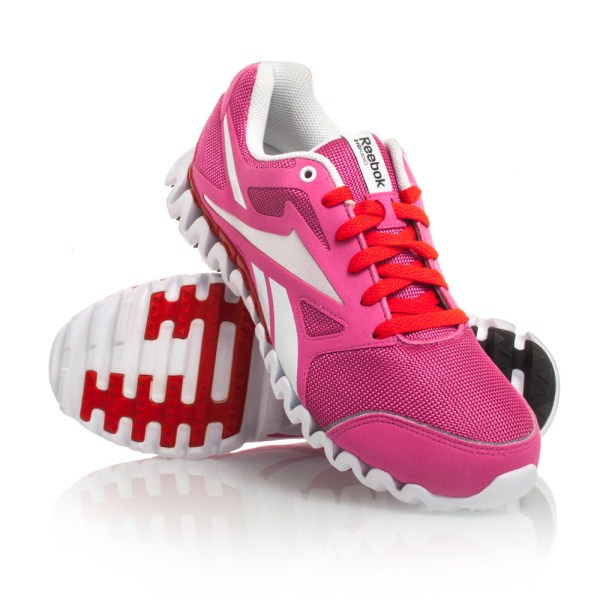 4f1bb3b4445 Reebok ZigNano Fly 2 SE - Womens Running Shoes - Pink White Red ...
