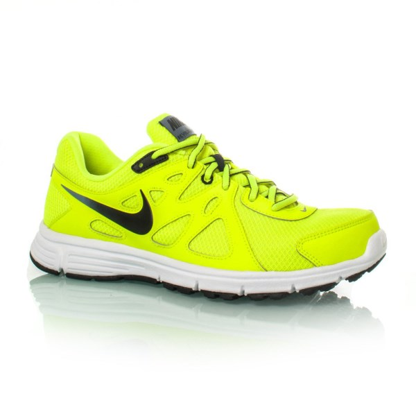3d503c9dbb2c2 Nike Revolution 2 MSL - Mens Running Shoes - Volt Black Blue Graphite