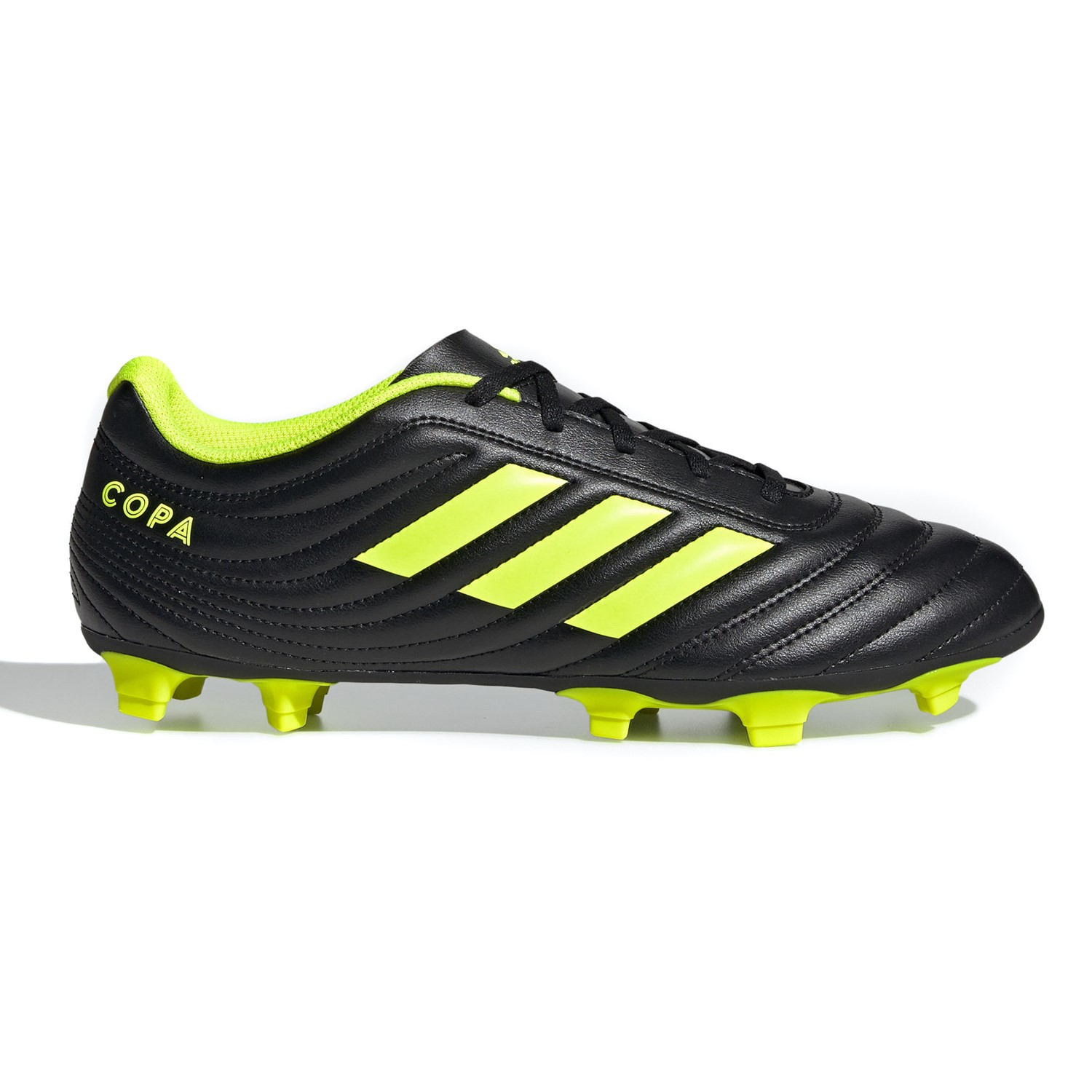 the best attitude 96830 22ff9 Adidas Copa 19.4 FG - Mens Football Boots - Core Black Silver Yellow