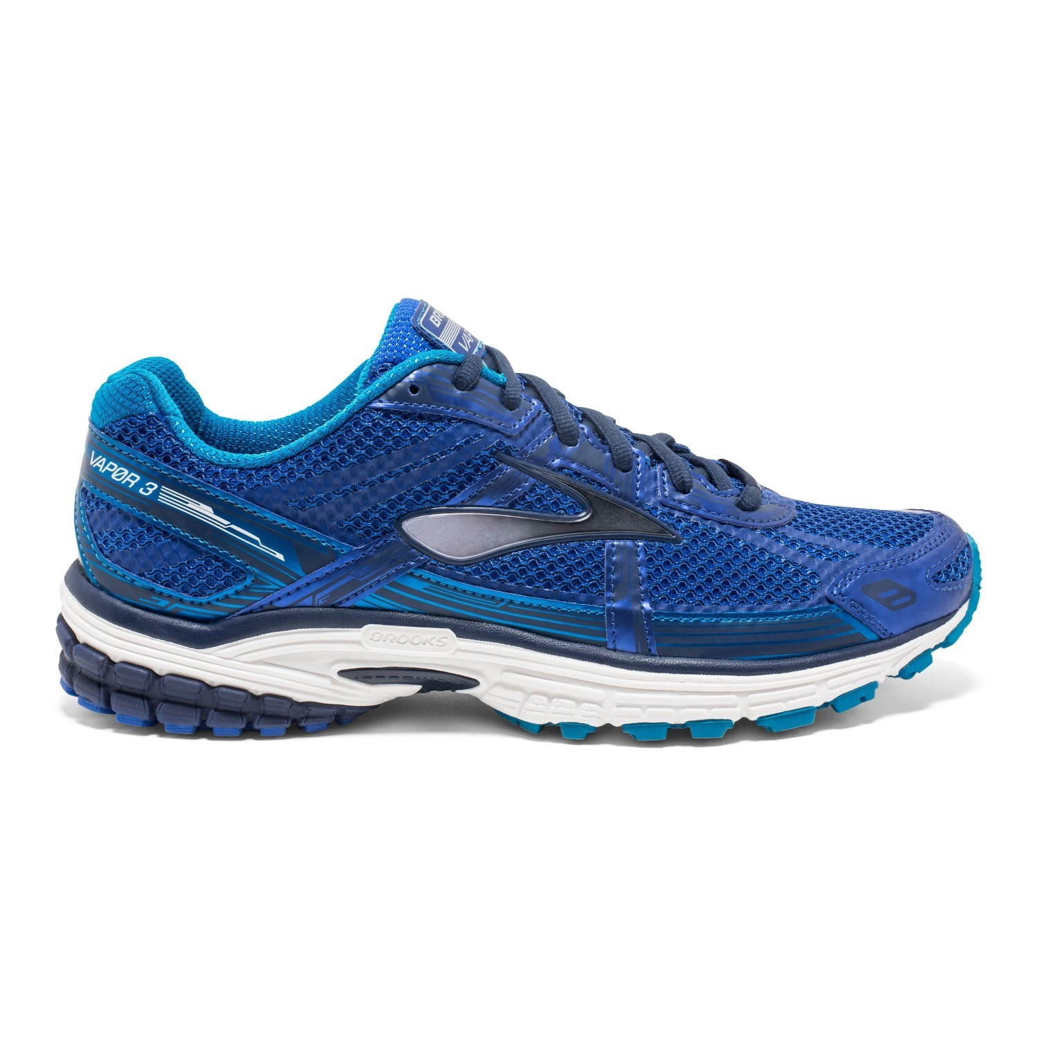 Brooks Vapor 3 - Mens Running Shoes - Brooks Blue/Peacoat