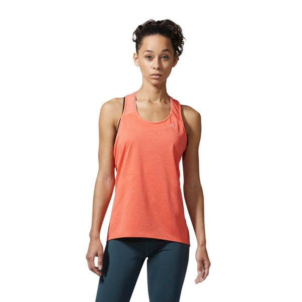 Adidas Supernova Womens Running Tank Top - Easy Coral