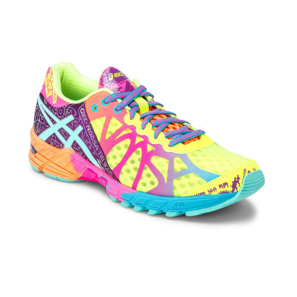 best sneakers 0a594 e6991 Asics Gel Noosa Tri 9 - Womens Running Shoes - Flash Yellow Turquoise Berry