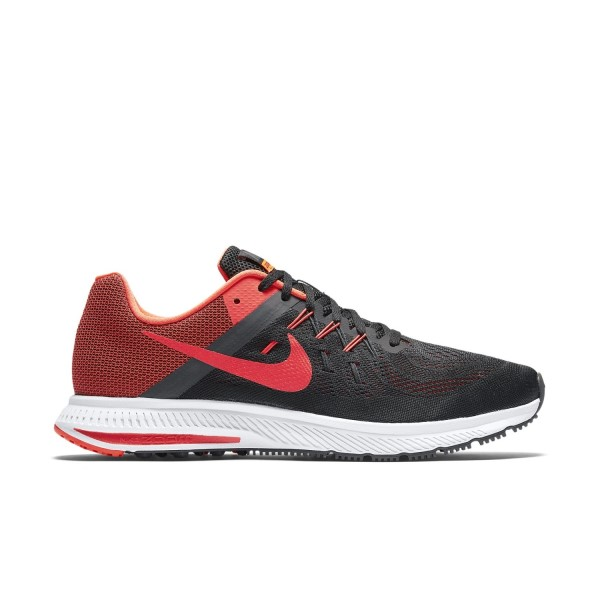 fce795dd8c05 Nike Zoom Winflo 2 - Mens Running Shoes - Black Bright Crimson Anthracite