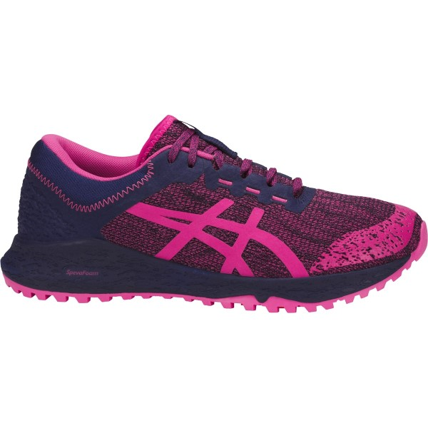 Asics Alpine XT - Womens Trail Running Shoes - Fuchsia Purple/Indigo Blue