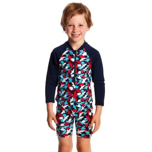 Funky Trunks Toddler Boys Swimming Jump Suit