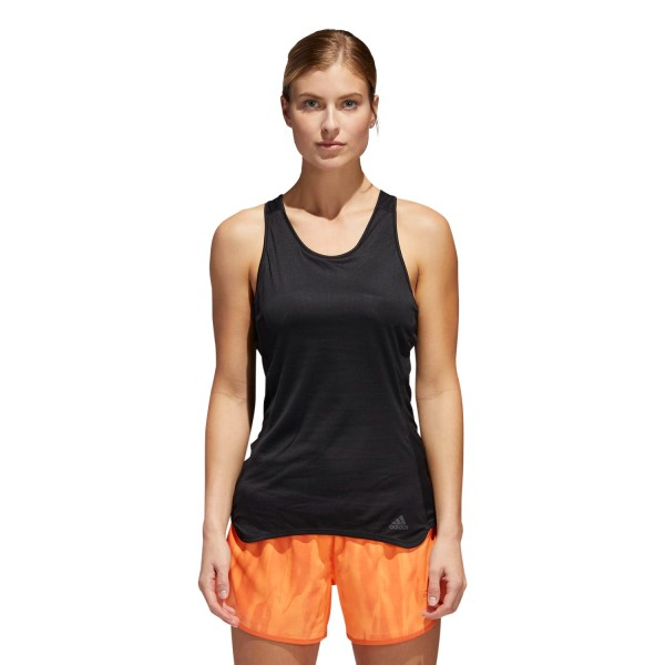 Adidas Response Light Speed Womens Running Tank Top - Black