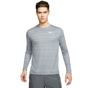 Nike Dri-Fit Miler Mens Long Sleeve Running Top