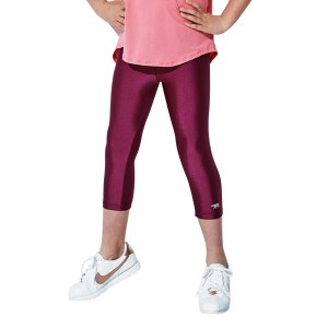 Running Bare Chella Kids Girls 3/4 Training Tights