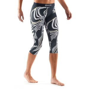 Skins DNAmic Womens Compression 3 4 Tights - Living Lines  aab7de1e5