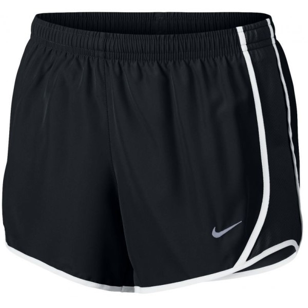 Nike Dri-Fit Tempo Kids Girls Running Shorts - Black
