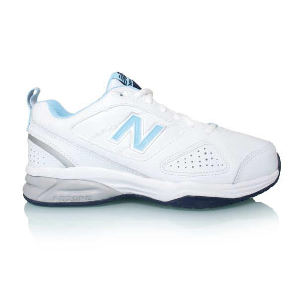 New Balance 624v4 - Womens Cross Training Shoes - White/Blue