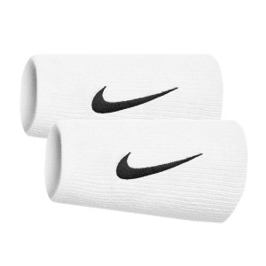 Nike Swoosh Doublewide Wristbands - Pair