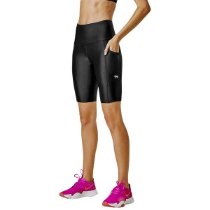 Running Bare Power Moves Ab Waisted Womens Bike Tights