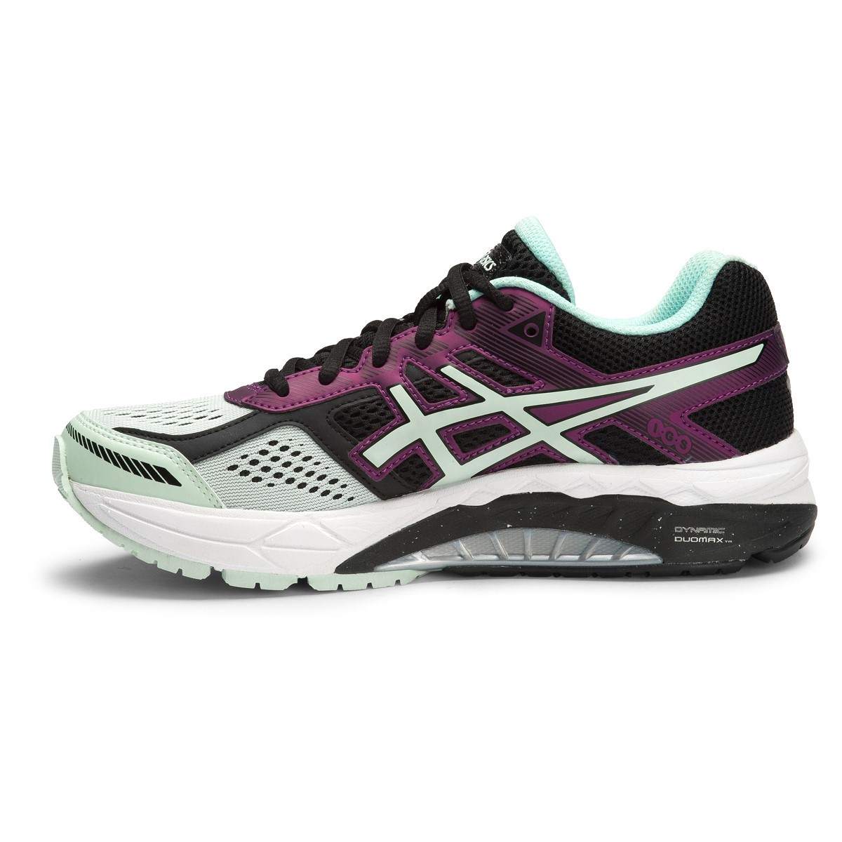 Asics Gel-Foundation 12(D) Black Running Shoes with paypal wvpmnHw