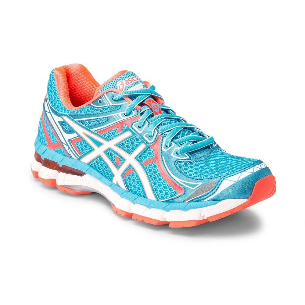 Asics GT-2000 2 - Womens Running Shoes - Light Blue Orange White ... 67389a77bd32