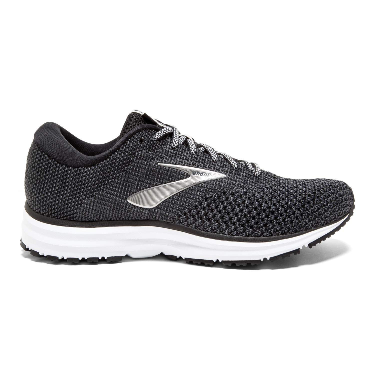 8136023ced Brooks Revel 2 - Womens Running Shoes - Black Grey