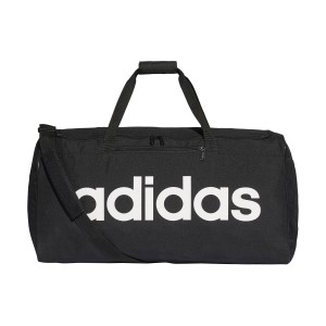 Adidas Linear Core Large Duffel Bag - Black/White