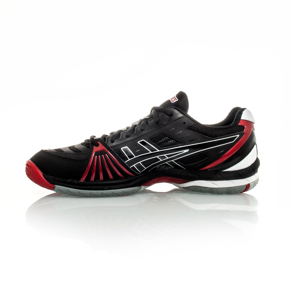 Red Asics Volleyball Shoes