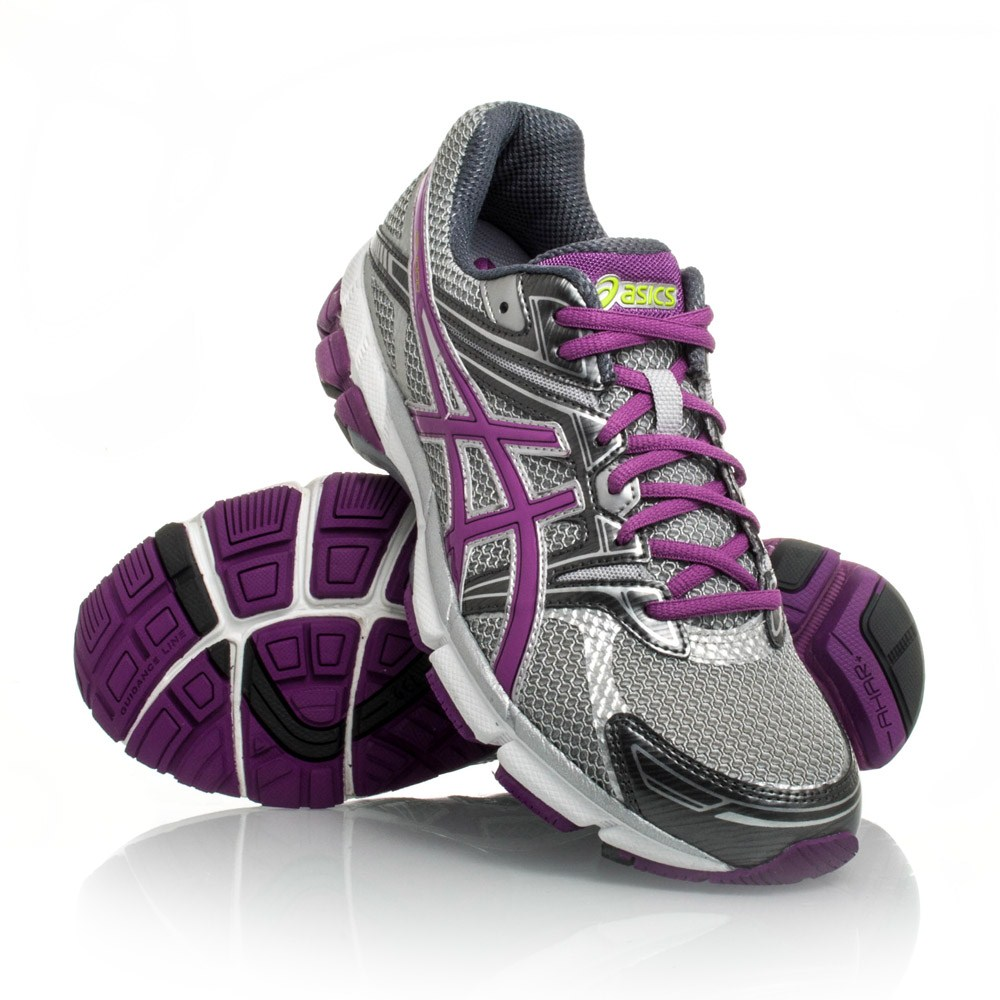 grey and purple asics