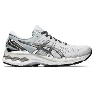 Asics Gel Kayano 27 Platinum - Womens Running Shoes + Free Lightfeet Socks