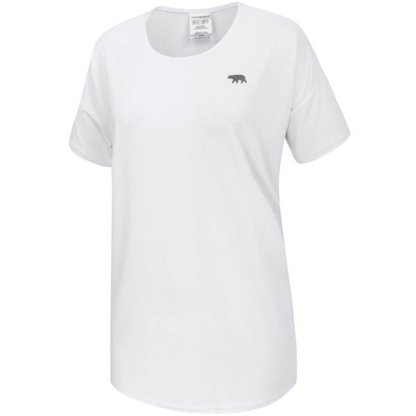 Running Bare What A Racquet Womens Training T-Shirt - White