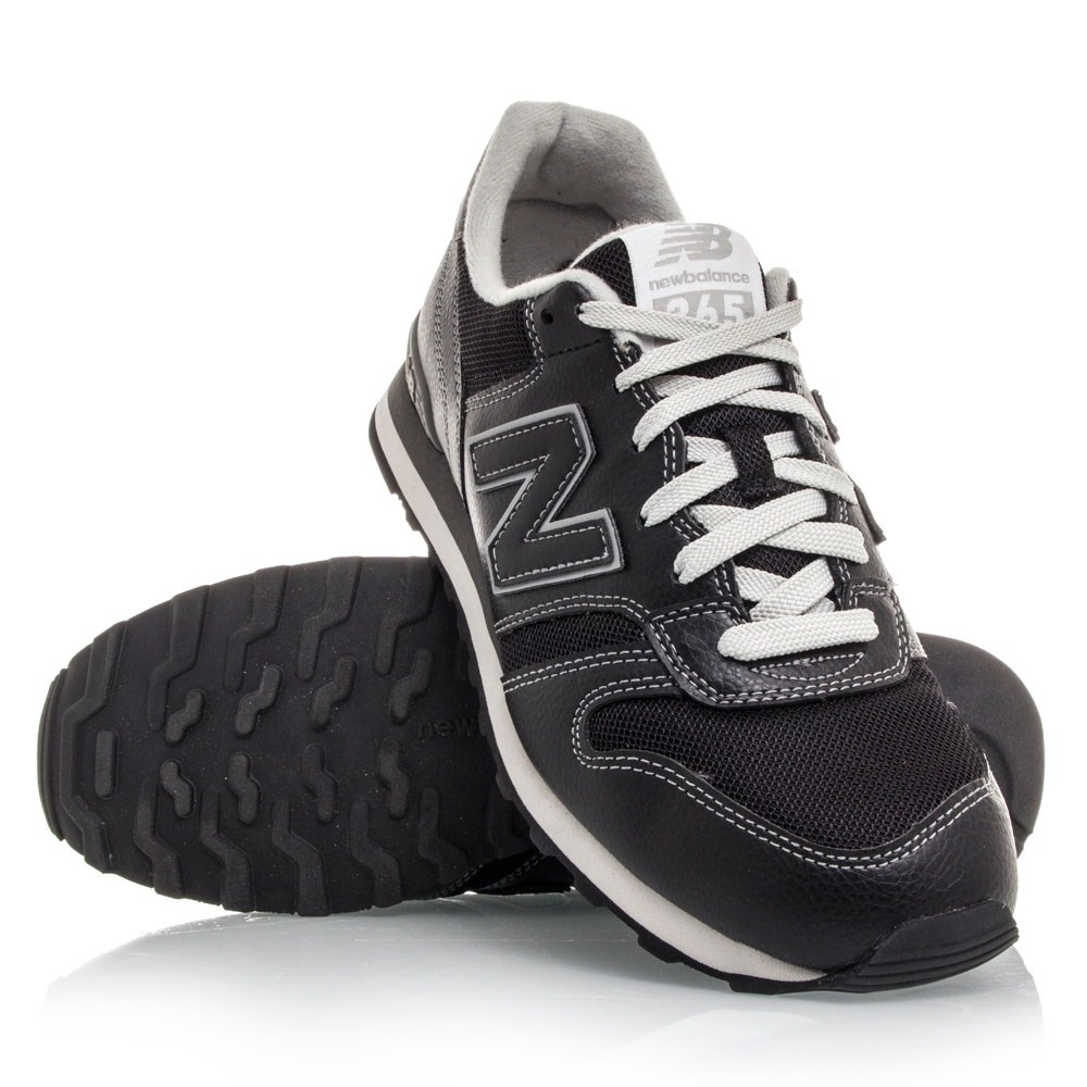 New Balance 365 - Mens Casual Shoes - Black Grey Online   Sportitude 88d352d80435